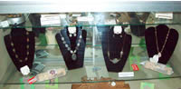Jewlery in gift shop